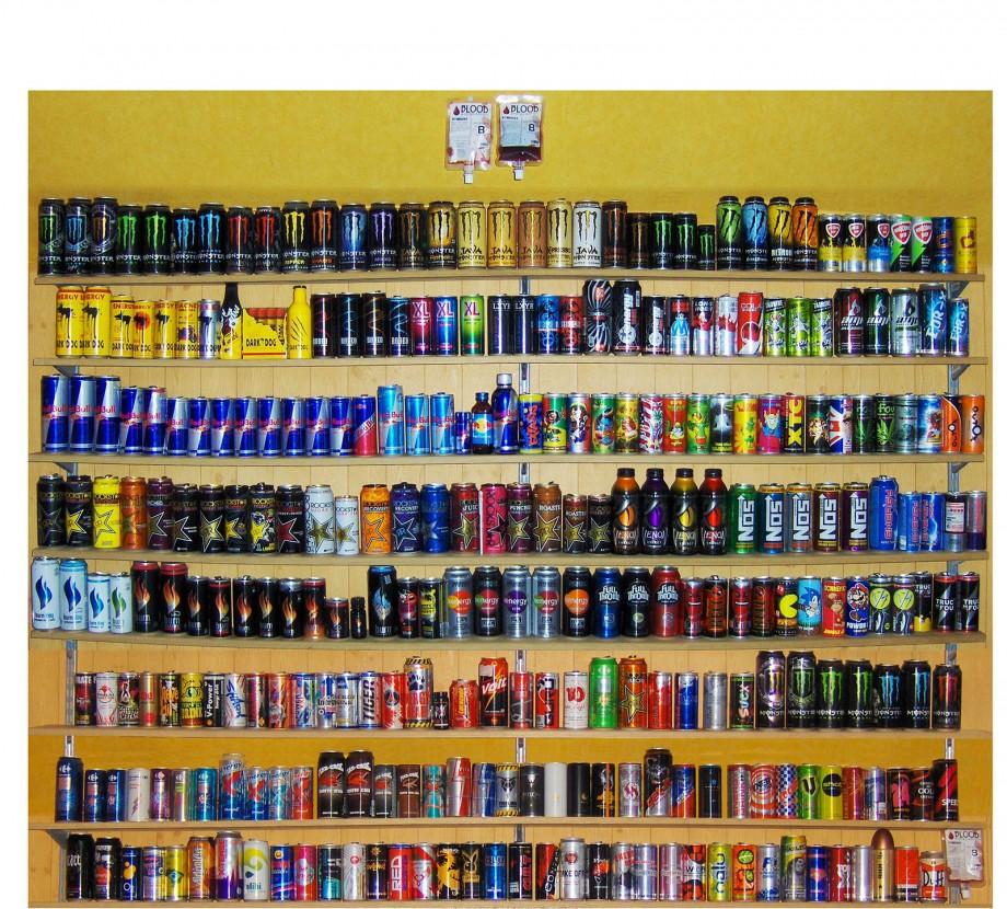 plus grosse collection de boissons energisantes