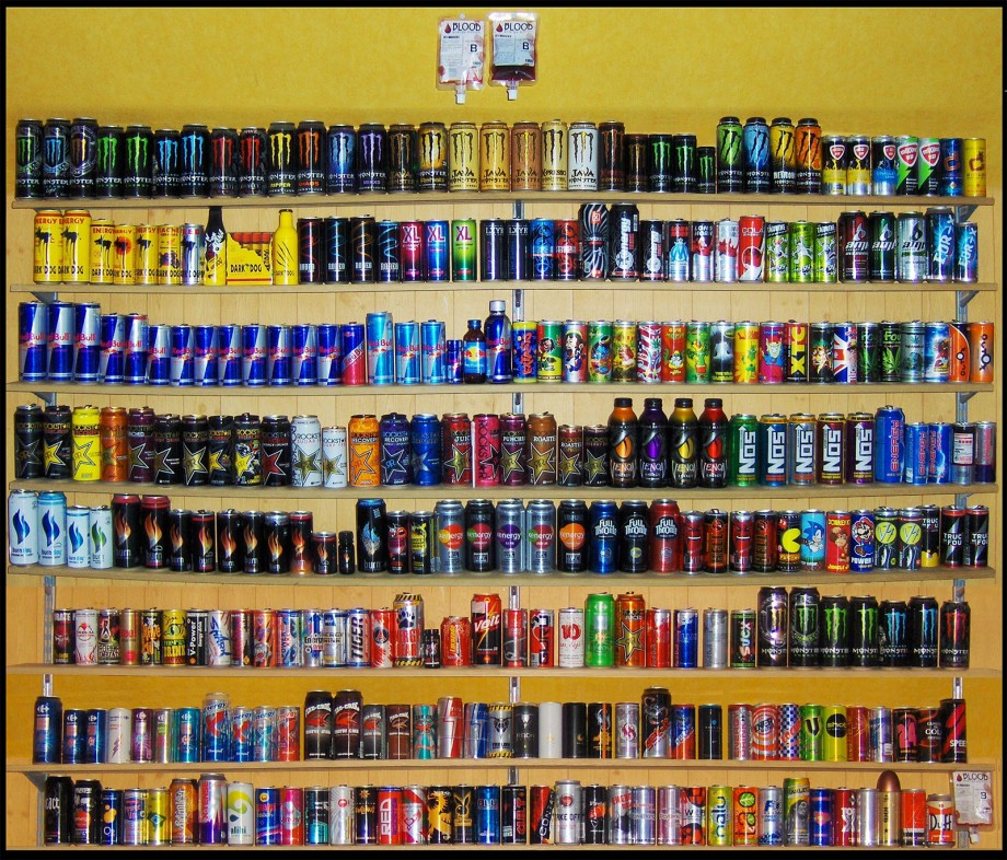 collection energy drinks collection