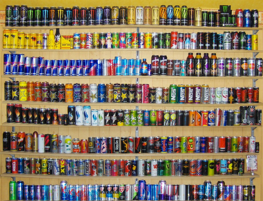 collection d'energy drinks francaises