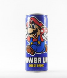Boston America corp energy drink - Canette Boston america corp - nintendo - version mario energy drink (3)