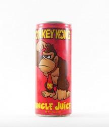 Boston America corp energy drink - Canette Boston america corp - nintendo - version mario energy drink gout banane avec donkey kong (2)