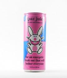 Boston America corp energy drink - Canette Boston  america corp - spaz juice happy bunny (2)