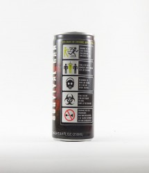 Boston America corp energy drink - Canette Boston america corp  - survival can canette energisante (3)