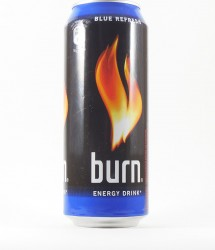 Burn energy drink - Canette Burn - energy drink bleu (1)