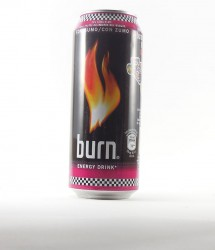 Burn energy drink - Canette Burn - lotus f1 canette 500ml rouge (1)