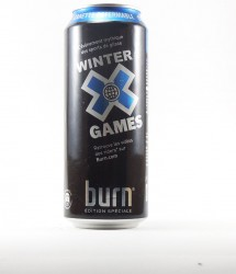 Burn energy drink - Canette Burn - winter x games (2)