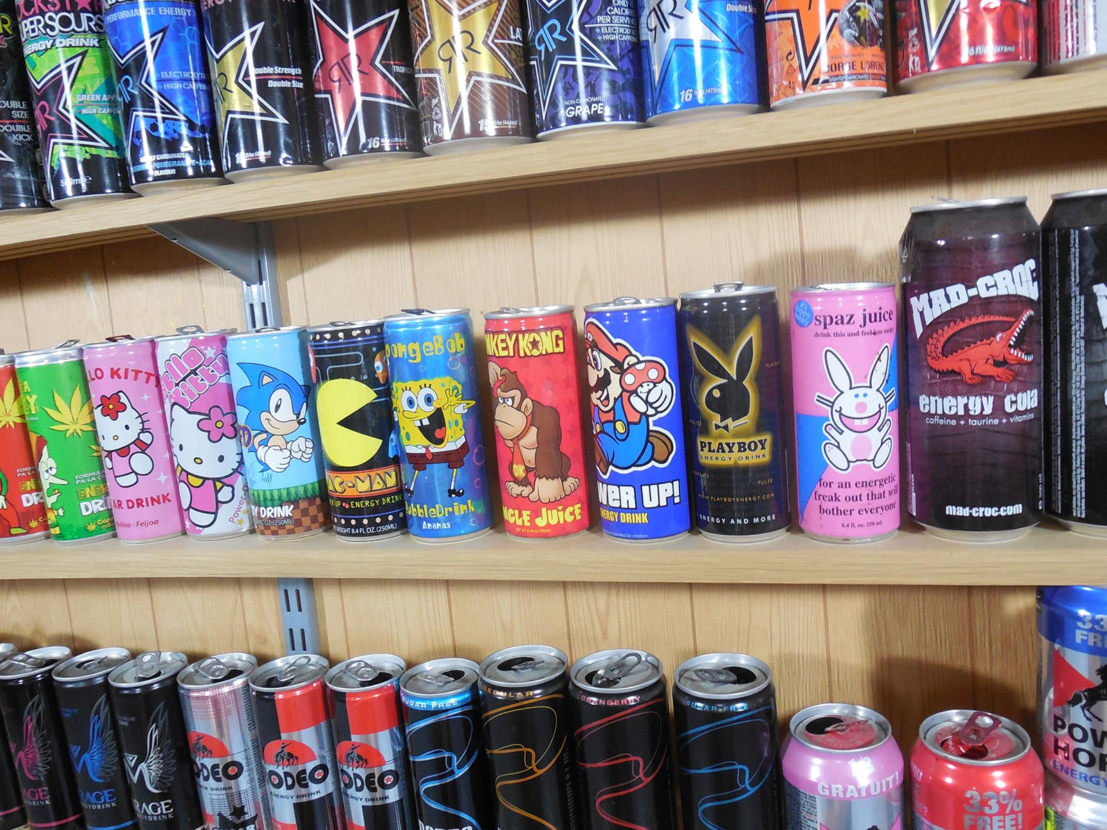 Collection Boston America corp Energy drink