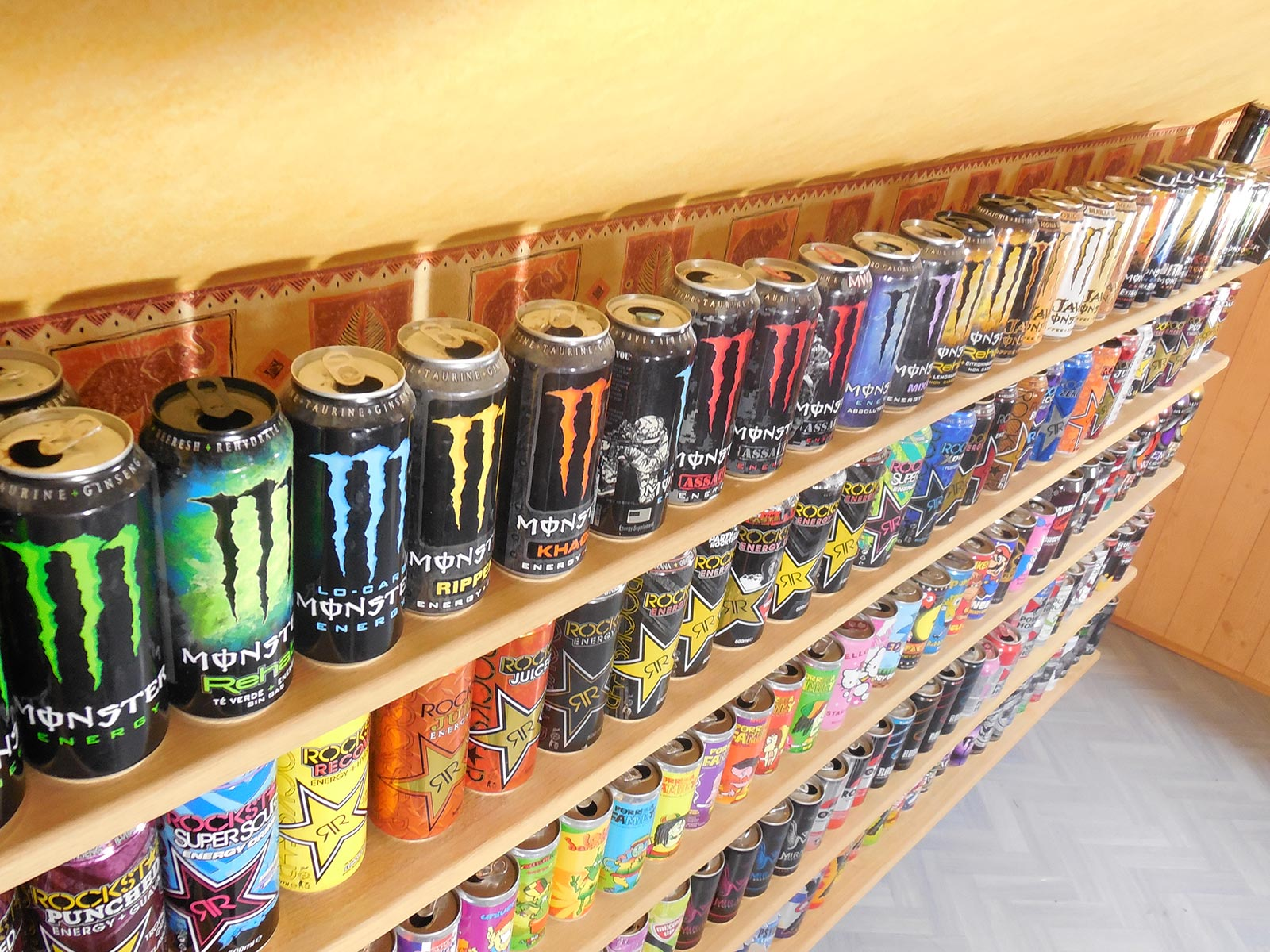 Collection Monster Energy drink