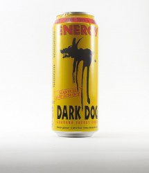 Dark Dog energy drink - Canette Dark dog - classique avec guarana (1)