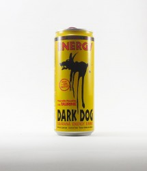 Dark Dog energy drink - Canette Dark dog - format 33cl avec taurine (1)