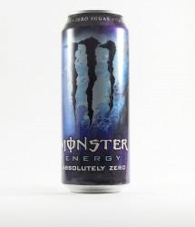 Monster energy drink - Canette Monster - absolutely zero, canette monster violette et bleue (1)