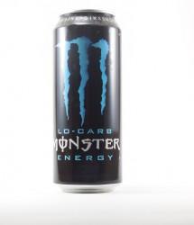 Monster energy drink - Canette Monster - canette 500 ml bleue standard (1)