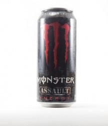 Monster energy drink - Canette Monster - canette rouge edition assault americaine (1)