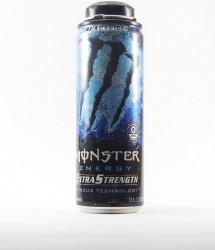 Monster energy drink - Canette Monster - extrastrenght black ice (1)