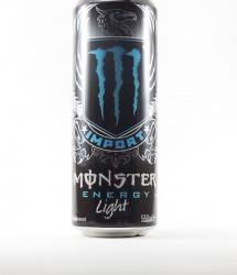 Monster energy drink - Canette Monster - import canette bleue light (1)