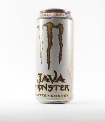 Monster energy drink - Canette Monster - java vanilla light (1)