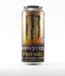 Monster energy drink - Canette Monster - rehab edition americaine gout thé et citronade non gazeux (1)