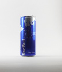 RedBull energy drink - Canette Red bull - blue edition myrthille (1)