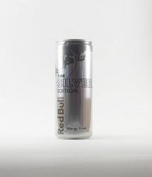 RedBull energy drink - Canette Red bull - silver edition gout citron (1)