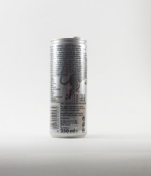 RedBull energy drink - Canette Red bull - silver edition gout citron (2)