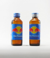 RedBull energy drink - Canette Red bull - version flacon verre thailande (3)