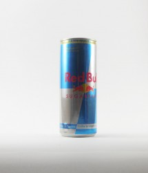 RedBull energy drink - Canette Red bull - version francaise light 250ml (1)