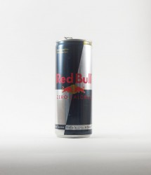 RedBull energy drink - Canette Red bull - zero sucre edition en plus sombre  (1)