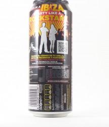 Rockstar energy drink - Canette Rockstar - energy drink cola noir (1)