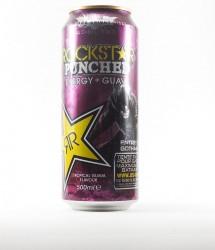 Rockstar energy drink - Canette Rockstar - version batman dark knight au gout goyave (1)