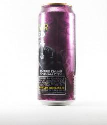 Rockstar energy drink - Canette Rockstar - version batman dark knight au gout goyave (2)
