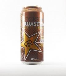Rockstar energy drink - Canette Rockstar - version cream et coffee, gout café (1)