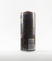 Rockstar energy drink - Canette Rockstar - version noir classique (2)