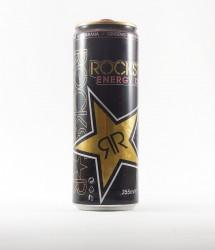 Rockstar energy drink - Canette Rockstar - version noir cola  (2)