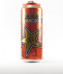 Rockstar energy drink - Canette Rockstar - version orange au  gout d'orange (1)