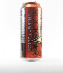 Rockstar energy drink - Canette Rockstar - version orange au  gout d'orange (2)