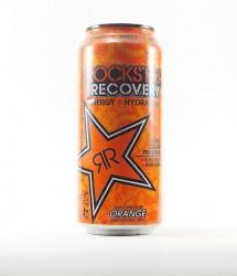 Rockstar energy drink - Canette Rockstar - version orange au gout orange  (2)