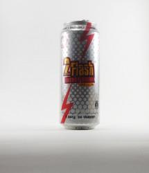 à l'unité energy drink - Canette 2flash - canette blanche 2 flash taurine energy drink (1)