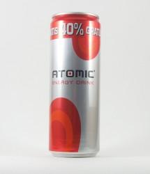 à l'unité energy drink - Canette Atomic - canette avec promotion Atomic energy drink (1)