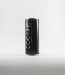 à l'unité energy drink - Canette Cocaine - cocaine energy drink sans cocaine mais avec le nom, canette noir (3)