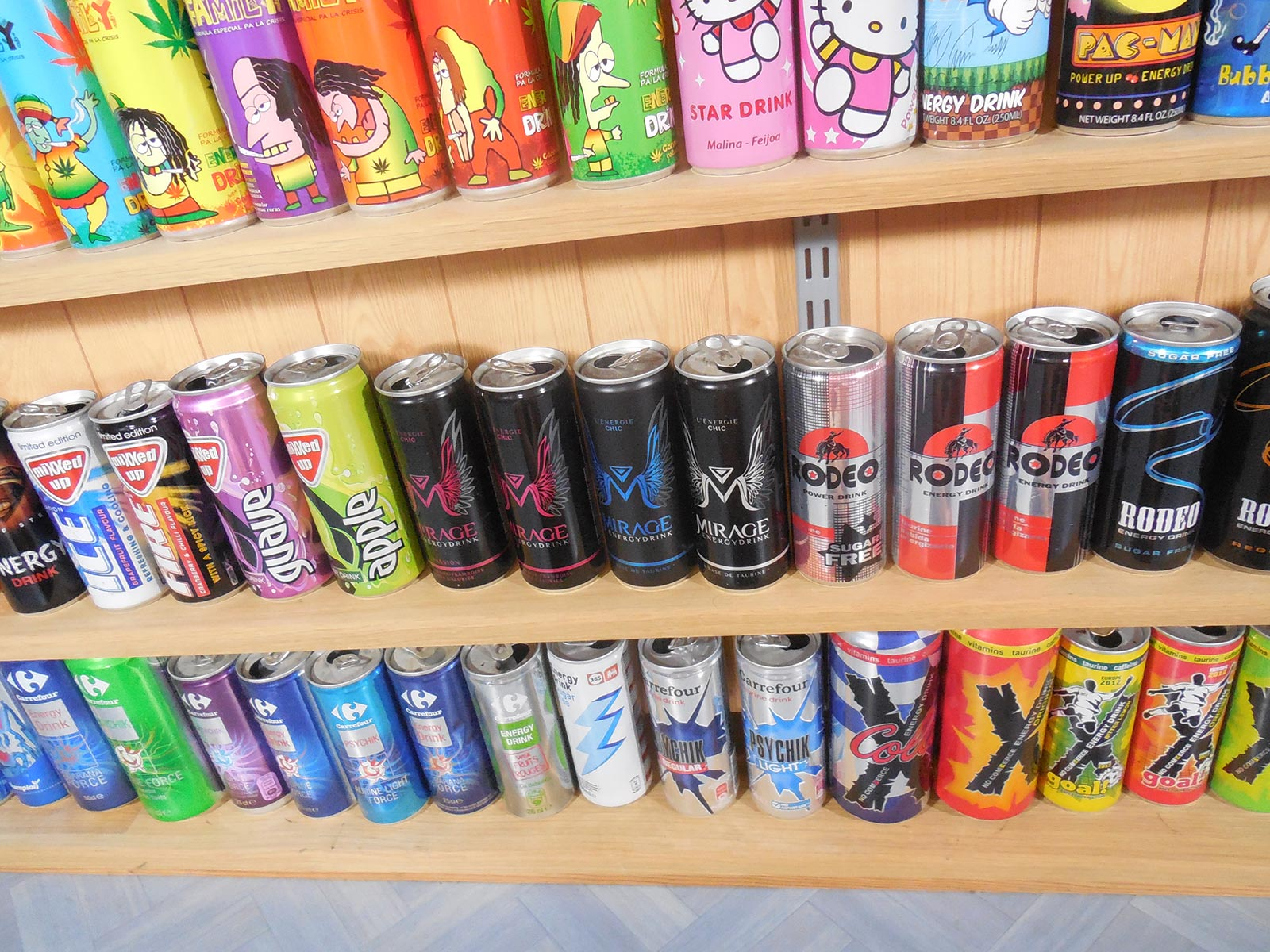 Collection Mirage Energy drink