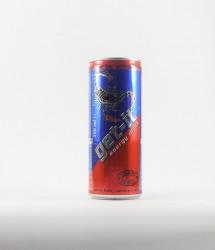 Par deux energy drink - Canette Get it - netto 250ml avec taurine, scorpion sur la canette de cez netto get it energy drink (3)