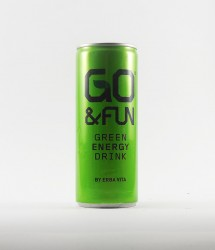 à l'unité energy drink - Canette Go and fun - go and fun boisson taurine energy drink (3)