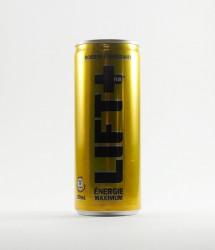 à l'unité energy drink - Canette Lift + - boisson energisante francaise jaune dorée (2)