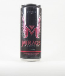 Mirage energy drink - Canette Mirage - energy drink rouge rose (1)