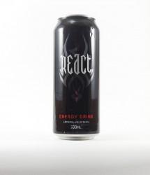 React energy drink - Canette React - boisson energisante en 500ml (1)