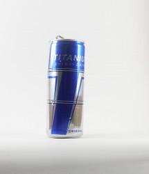 Par deux energy drink - Canette Titanium - bleu regular energy drink (1)